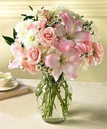 A soft, subtle, sweet bouquet to be enjoyed by all