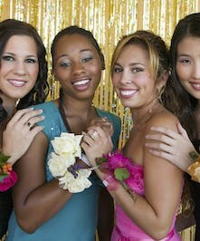 All That Glam Prom Flowers - Marco Island Florist