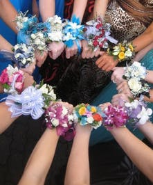 Color Tango Prom Dance Corsages - Marco Island