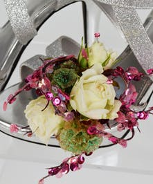 Roses in Stilettos Prom Flowers - Marco Island Florist