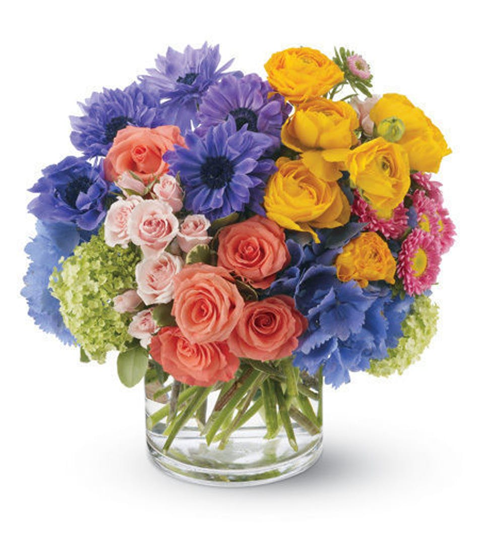 Spring Sonnet Flower Bouquet Naples Same Day Delivery