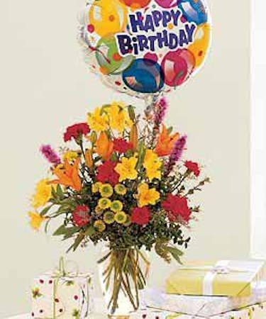 Birthday Flowers Balloon Delivery Naples Marco Island