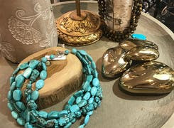 Hand-crafted jewelry from a variety of local artists